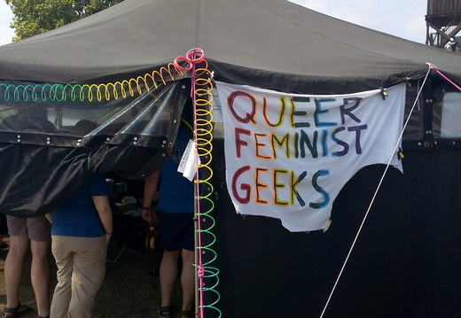 Queer Feminist Geek in Chaos Computer Camp 2015