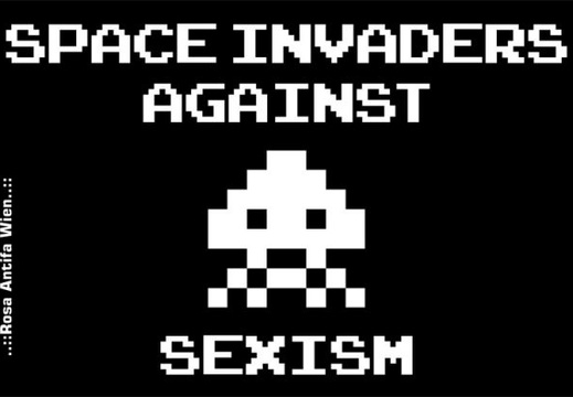 phoca thumb l space invaders against sexism