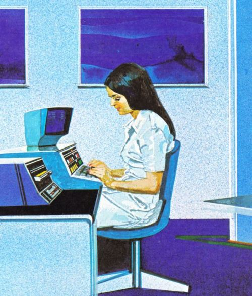 The computer can produce an almost immediate treatment plan to assist the doctor in deciding what action to take, 1979.jpg